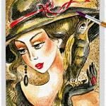 Raven Lady 02 ~ EvitaWorks