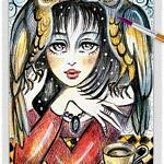Raven Lady 03 ~ EvitaWorks