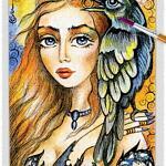 Raven Lady 04 ~ EvitaWorks