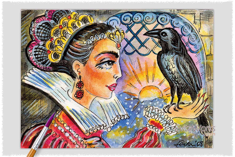 Raven Lady 08 ~ EvitaWorks