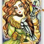 Raven Lady 12 ~ EvitaWorks