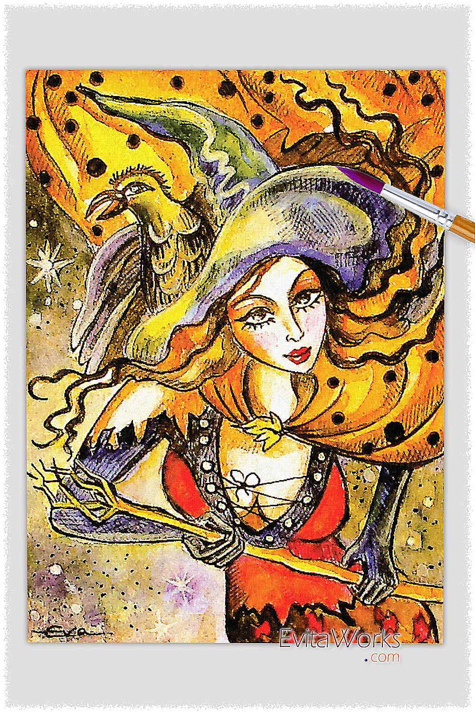 Witch 03 ~ EvitaWorks