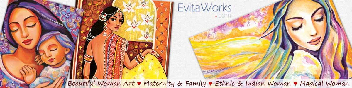 An Original Artwork By Eva Campbell (evitaworks.com) ~ EvitaWorks