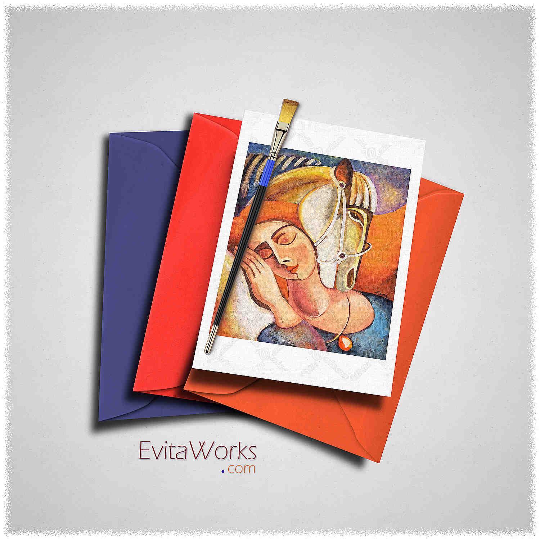 Dream Keeper Card ~ EvitaWorks