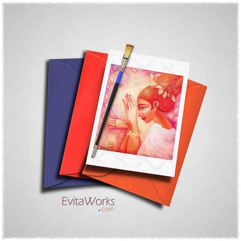 Forest Fairy Card ~ EvitaWorks