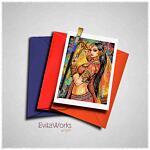 Belly Dancer 02 Card ~ EvitaWorks