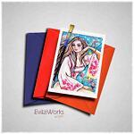 East Woman 08 Card ~ EvitaWorks