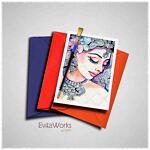 East Woman 17 Card ~ EvitaWorks