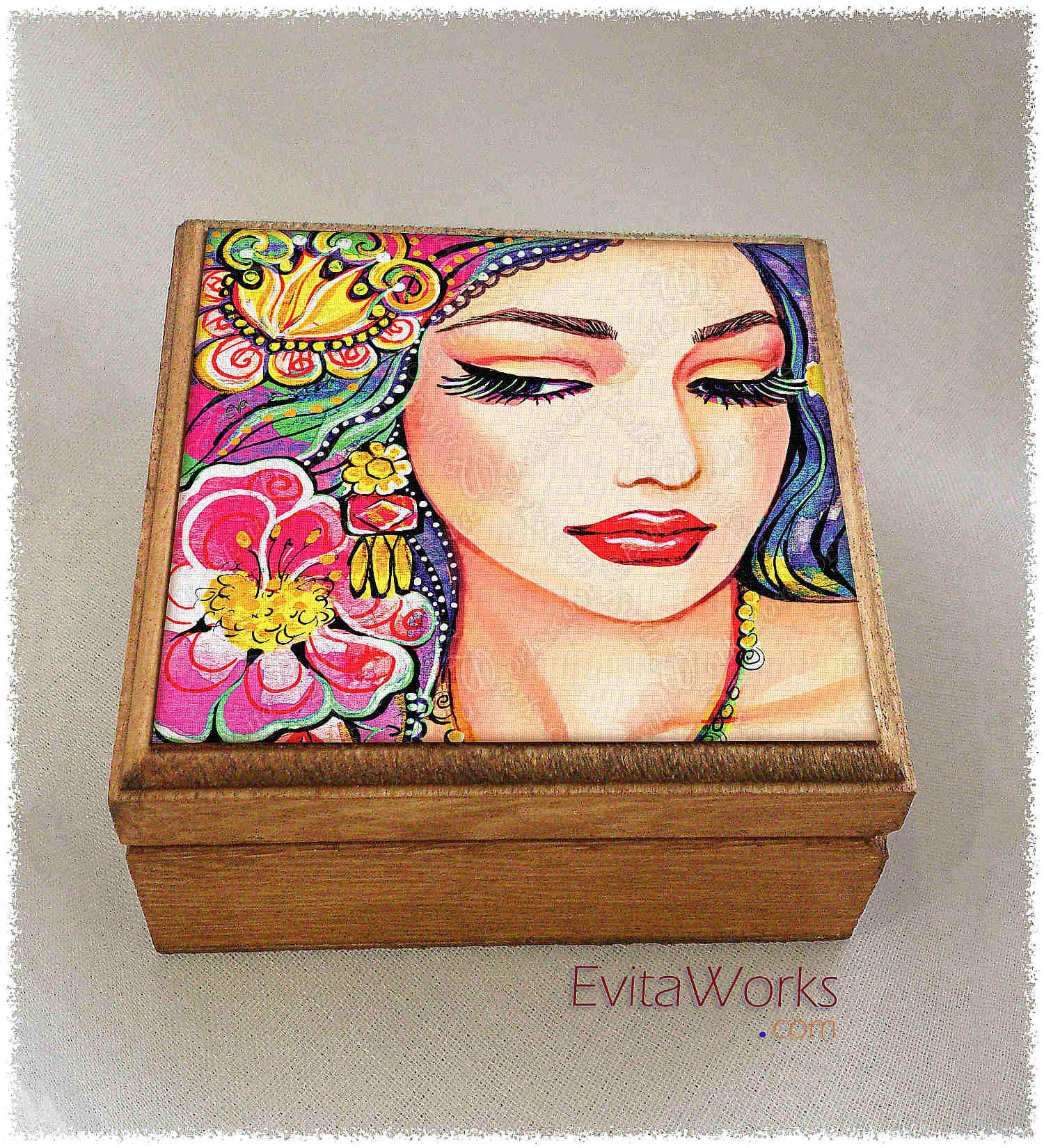 East Woman 21 Boxsq ~ EvitaWorks