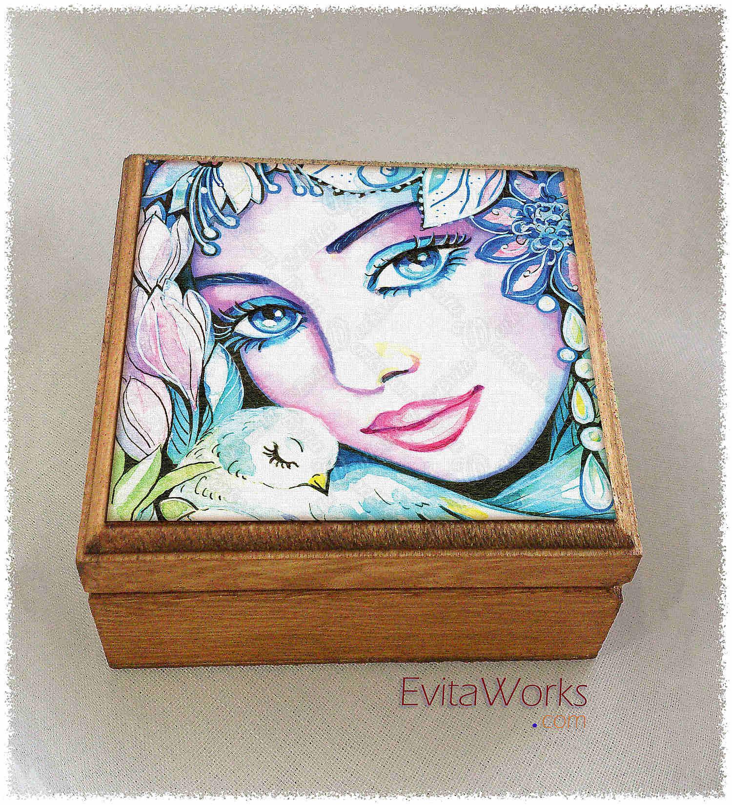 Exotic Visage 04 Boxsq ~ EvitaWorks