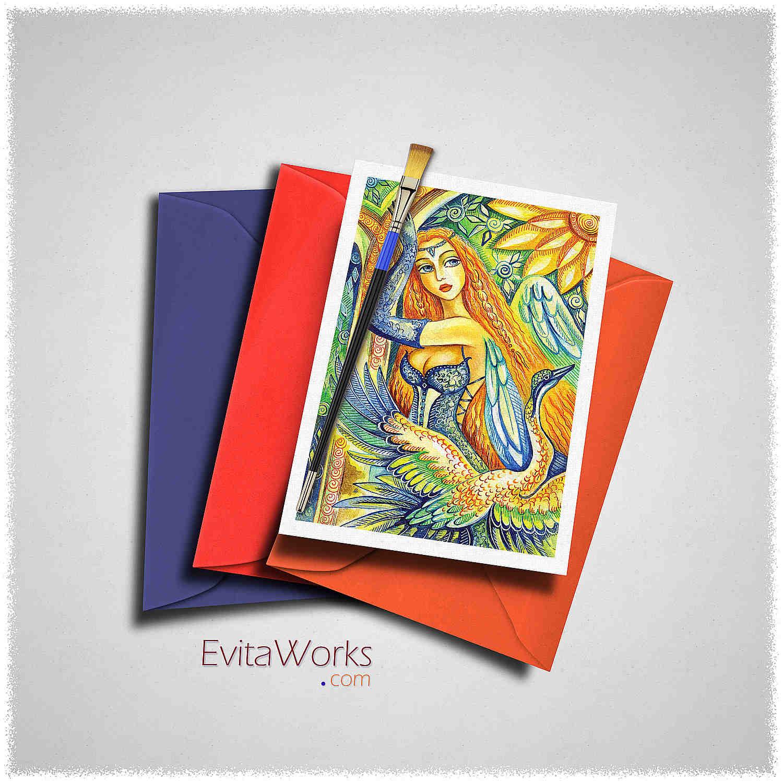 Fairy 07 Card ~ EvitaWorks
