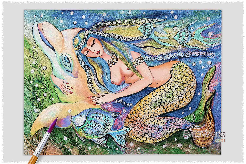 Mermaid 01 ~ EvitaWorks