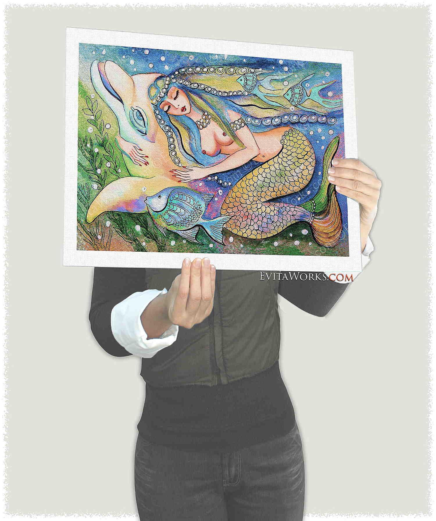 Mermaid 01 Page1 ~ EvitaWorks
