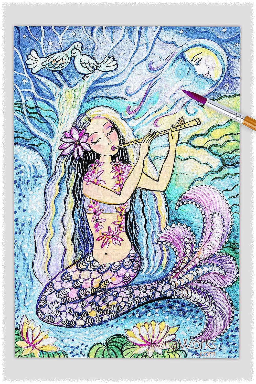 Mermaid 11 ~ EvitaWorks