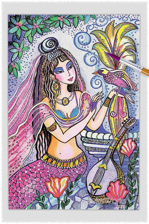 Mermaid 13 ~ EvitaWorks