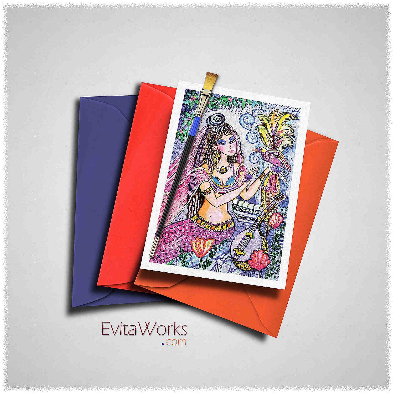Mermaid 13 Card ~ EvitaWorks