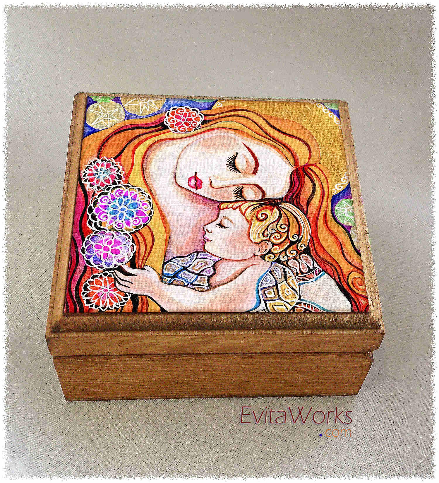 Mother Child 03 Boxsq ~ EvitaWorks