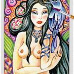Raven Lady 06 ~ EvitaWorks